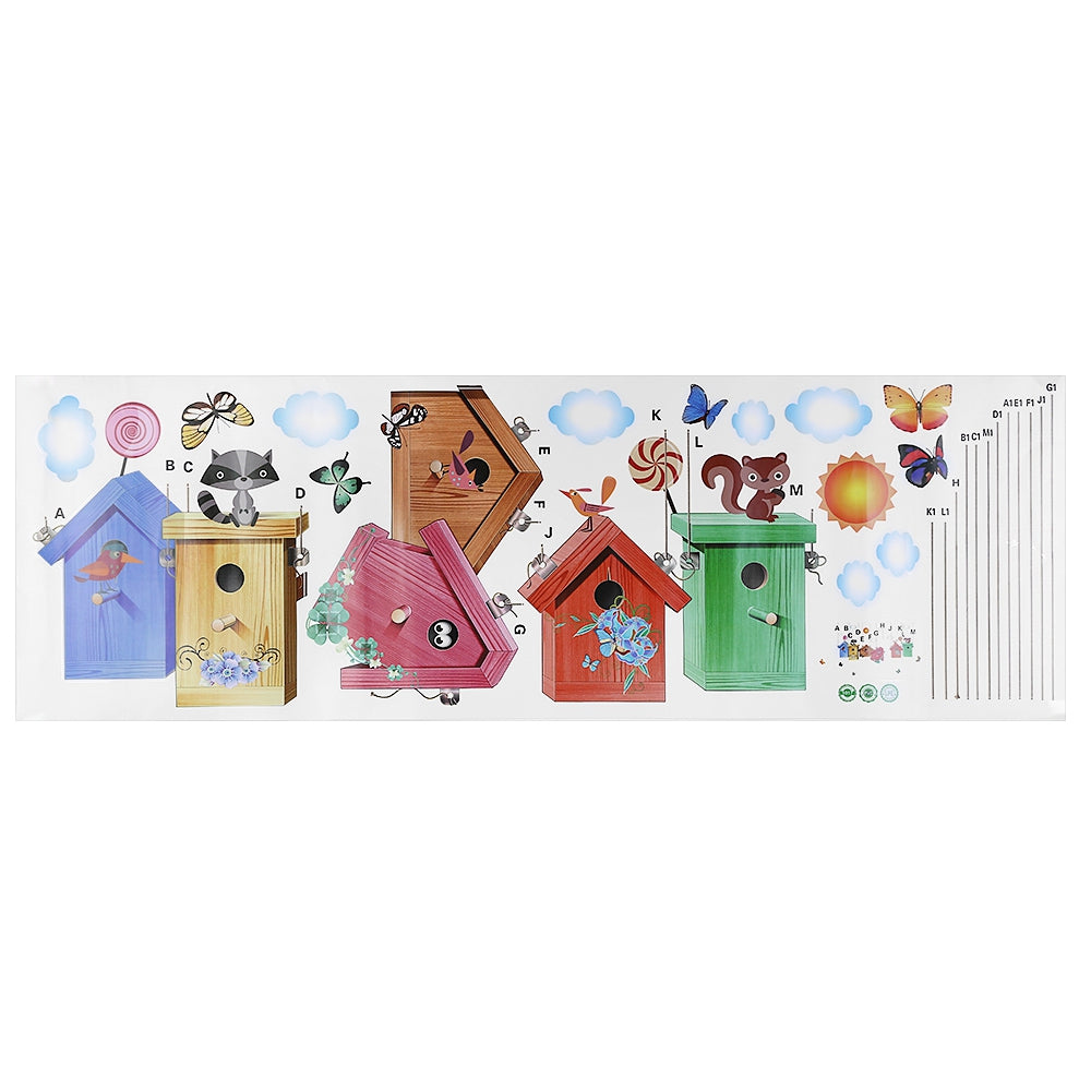 Birdcage Removable Wall Sticker Baby Room Nursery DecorCOLORMIX