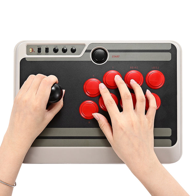 Coupcou.com: 8Bitdo N30 Customizable Bluetooth Arcade Stick with Turbo for Nintendo Switch PC Mac Android Phone
