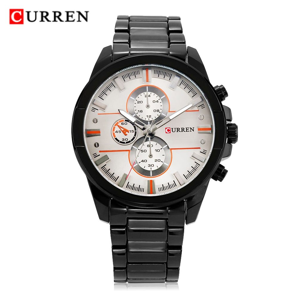 8274 Fashion Men Watch with Alloy BandRED