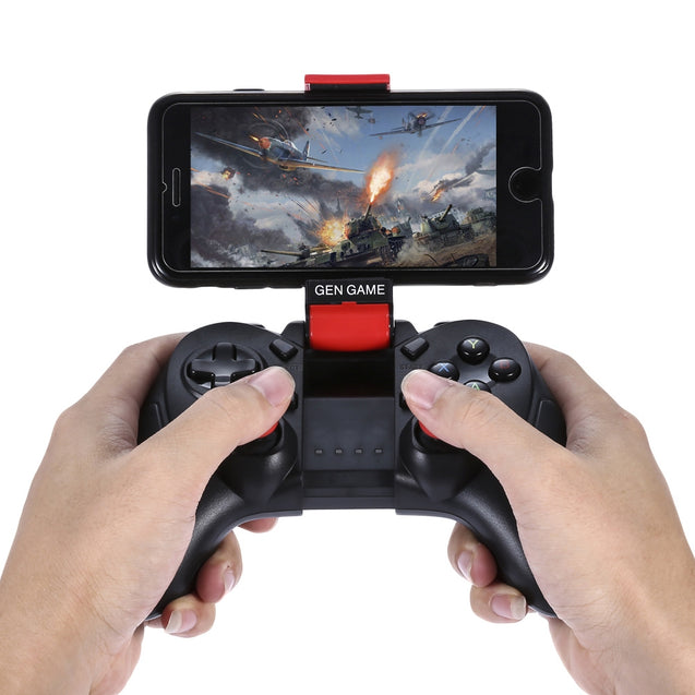 Coupcou.com: GEN GAME S6 Deluxe Wireless Bluetooth Gamepad Game Controller for iOS Android Smartphones Tablet Windows PC TV Box