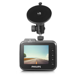 Coupcou.com: PHILIPS CVR208 2.4-inch Mini Dash Cam 1920 x 1080P HD Driving Recorder