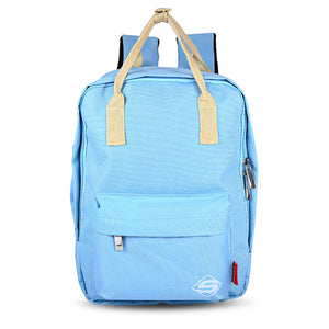 Coupcou.com: SUPER - K Preppy Style Traveling Girls Patchwork Backpack Zipper School Bag for Teenagers