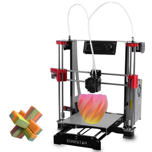 Coupcou.com: ZONESTAR M8R2 Full Metal Frame Mixed Color Multi-material Printing DIY 3D Printer Kit