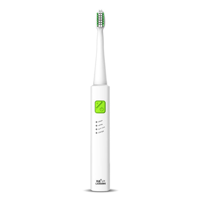 Coupcou.com: LANSUNG U1 Sonic Electric Toothbrush Quick Charging 2min Timer Waterproof Design with 3 Cleaning Modes