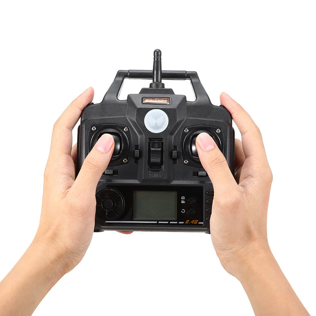 Coupcou.com: X5SW - 1 RC Quadcopter 30W Camera WiFi 2.4G 4CH 6-axis Gyro Headless Mode 3D Unlimited Flip Aircraft