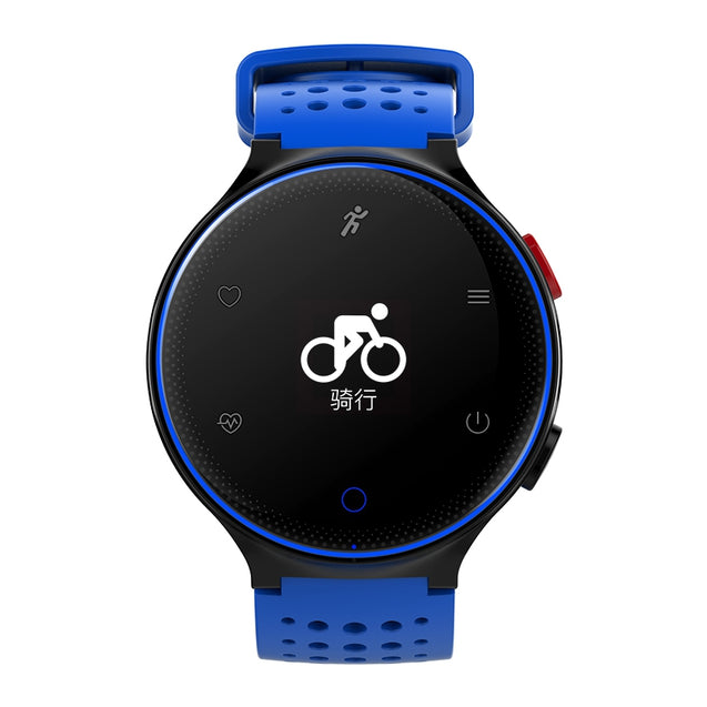 Coupcou.com: Microwear X2 Smartwatch Bluetooth 4.0 IP68 Waterproof Sedentary Reminder Sleep / Heart Rate Monitor Pedometer