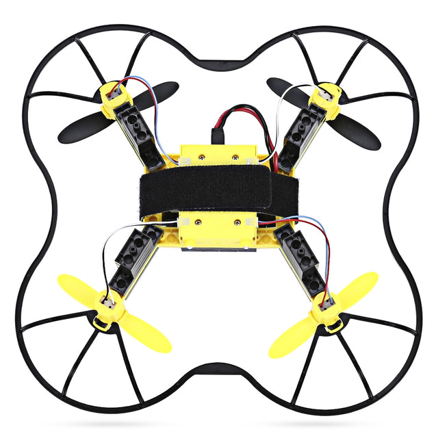 Coupcou.com: Flytec T11S DIY Building Blocks RC Quadcopter WiFi FPV 30W Camera 2.4G 4CH 6-axis Gyro Altitude Hold Headless Mode 3D Unlimited Flip Aircraft