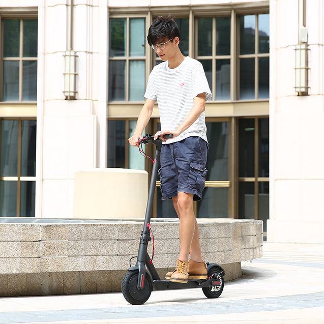 Coupcou.com: Rcharlance S8 5.2Ah Battery 8.5 inch Dual Wheels Folding Electric Scooter with EU Plug