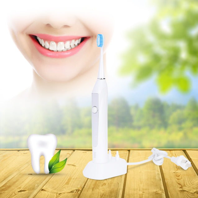 Coupcou.com: Kemei KM - 913 Ultrasonic Washable inductive charging Automatic Toothbrushes