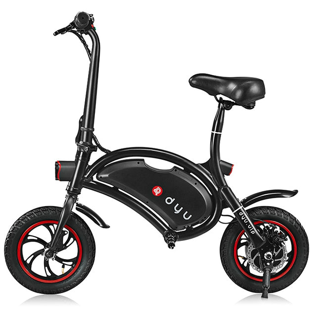 Coupcou.com: F - wheel DYU D1 12 inch Wheels 10Ah Smart Folding Electric Bike ( Deluxe Version )