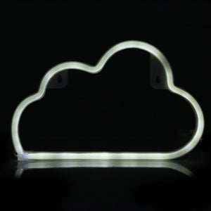 Coupcou.com: Creative LED Cloud Shape Neon Night Light Wall Lamp Holiday Decorations
