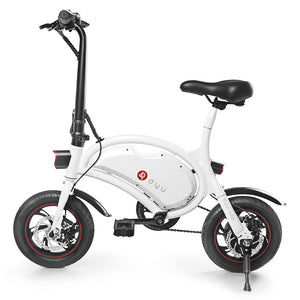 Coupcou.com: F - wheel DYU D2 Folding Electric Bike 12 inch Wheels 5.2Ah Battery EU Plug