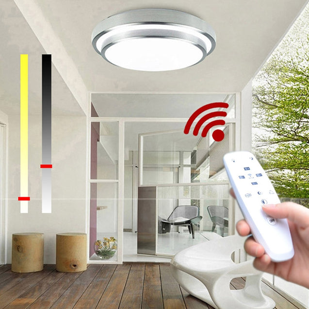 Coupcou.com: Led Ceiling Lights Change Color Temperature Ceiling Lamp 40W Smart Remote Control Dimmable Bedroom Living Room