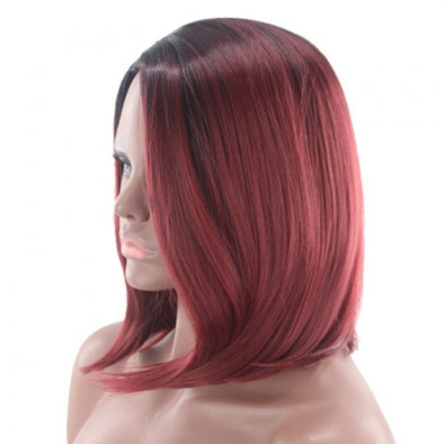Coupcou.com: Female Charming Medium Artificial Hair Synthetic Wig
