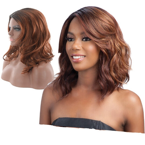 Coupcou.com: Female Fashionable Charming Wavy Medium Artificial Hair Synthetic Wig