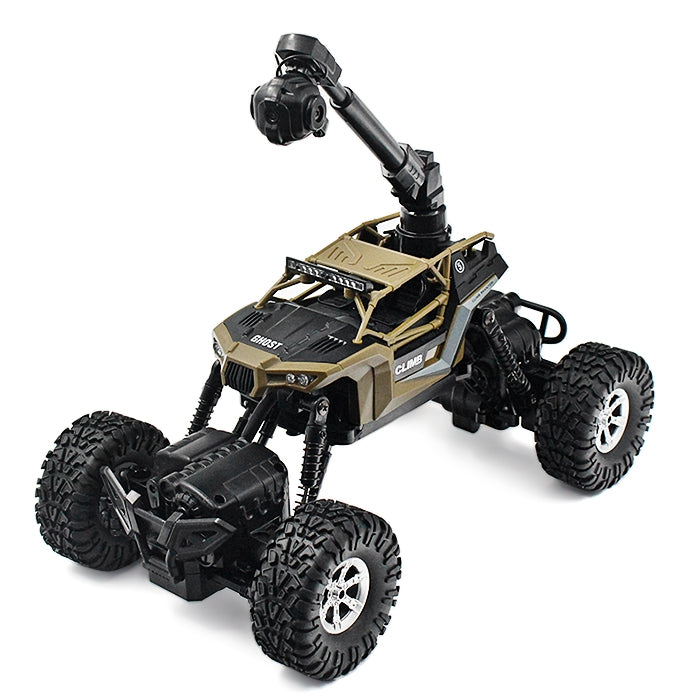CRAZON 171604B 1:16 Waterproof RC Climbing Car RTR WiFi FPV 0.3MP Camera / 4WD 2WD Switchable / ...ARMY GREEN
