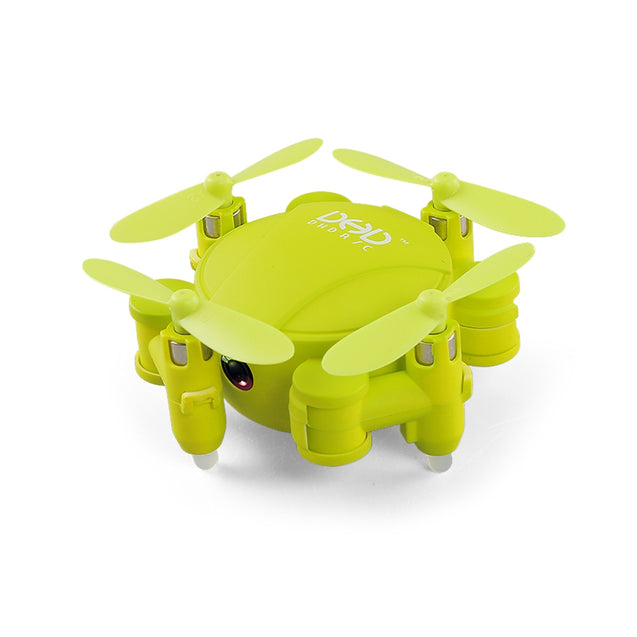 Coupcou.com: DHD R/C D4 Foldable Pocket Micro RC Drone RTF WiFi FPV 720P HD / Altitude Hold /  Night Navigation LED