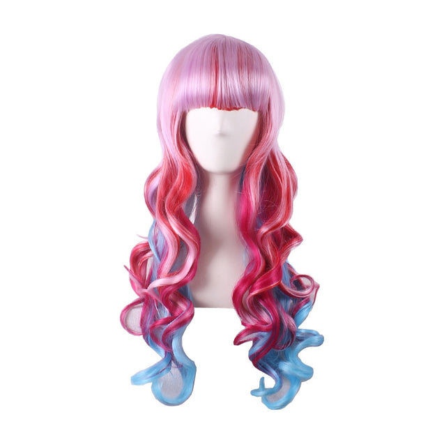 Coupcou.com: Cosplay Long Curly Female Fashionable Charming Wig