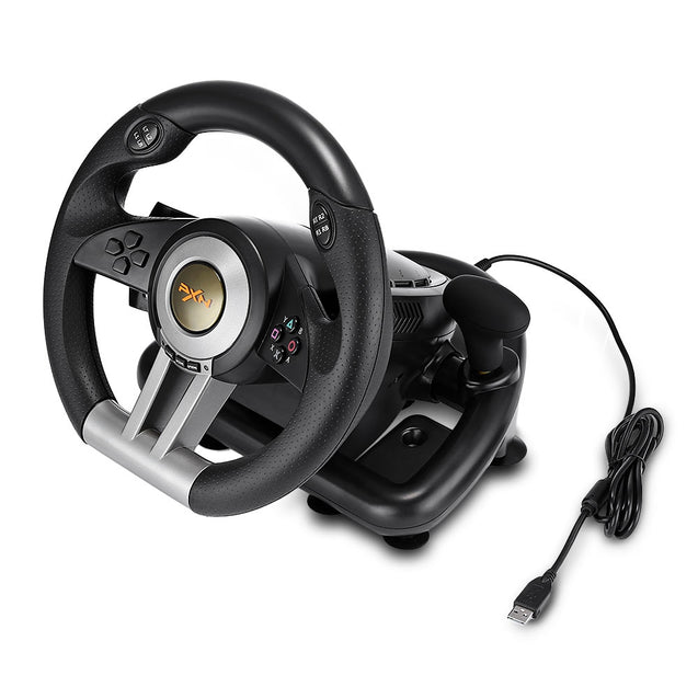 Coupcou.com: PXN V3II Racing Game Steering Wheel with Brake Pedal