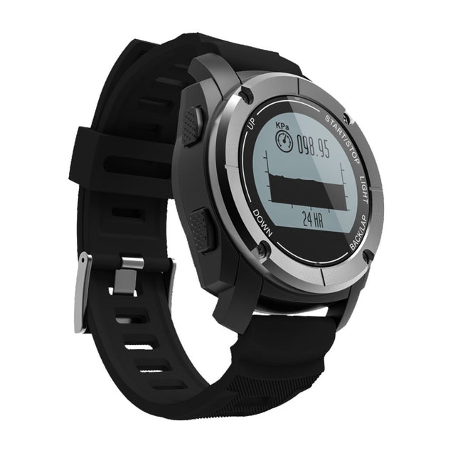 Coupcou.com: S928 Real-time Heart Rate Track Smart Wristband Air Pressure Environment Temperature Height Watch