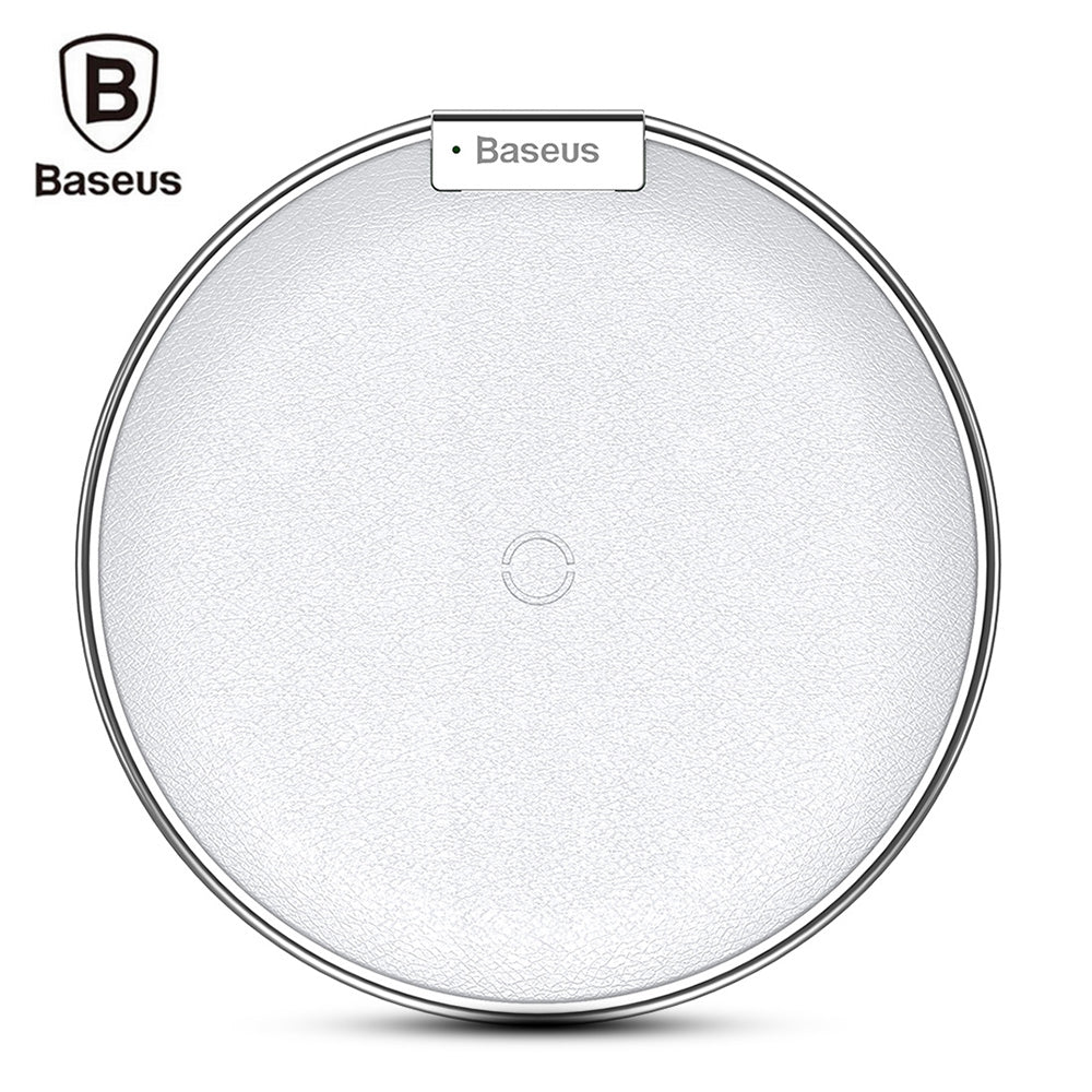Baseus iX Qi Wireless Fast Charger for iPhone 8 / 8 Plus / XWHITE
