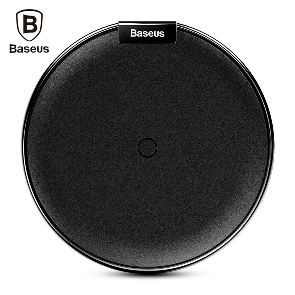 Baseus iX Qi Wireless Fast Charger for iPhone 8 / 8 Plus / XBLACK