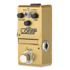 Coupcou.com: Rowin Mini Compressor Effect Comp Pedal for Electric Guitar