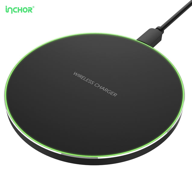 Coupcou.com: INCHOR C1 Ultra Slim Qi Wireless Fast Charger