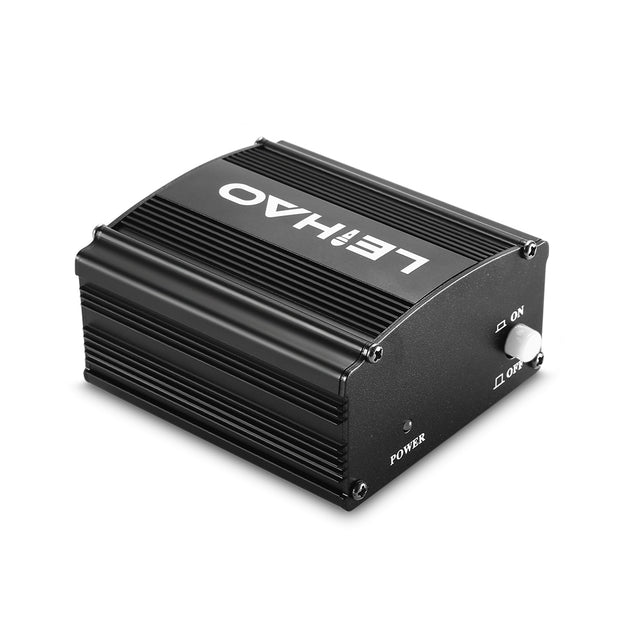 Coupcou.com: LEIHAO 48V Phantom Power Supply for Condenser Microphone Music Recording Equipment