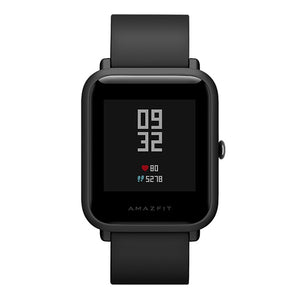 Coupcou.com: Original Xiaomi Huami AMAZFIT Smartwatch International Version with Corning Gorilla Glass Screen Heart Rate / Sleep Monitor Geomagnetic Sensor GPS