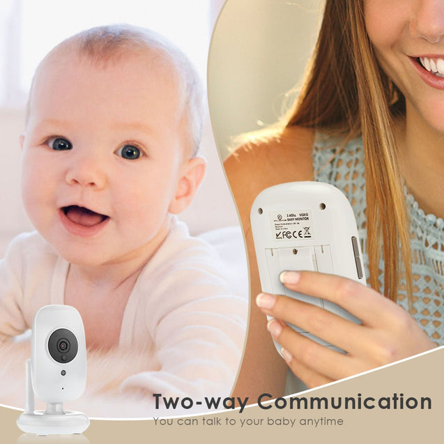 Coupcou.com: Enjoyme Video Baby Monitor Lullaby Parent Talk-back Camera