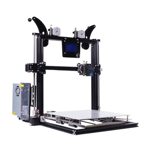 Coupcou.com: ZONESTAR Z8XM2 Dual Nozzles Multi-material Printing DIY 3D Printer Kit