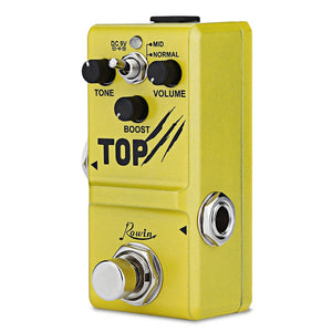 Coupcou.com: Rowin LN318 Mini Boost Base Guitar Effect Pedal