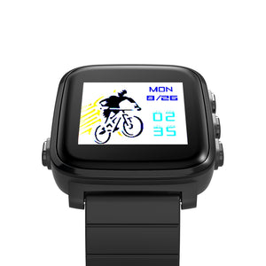 Coupcou.com: SMA Q2 Bluetooth 4.0 Heart Rate Monitor Smart Watch for Android iOS