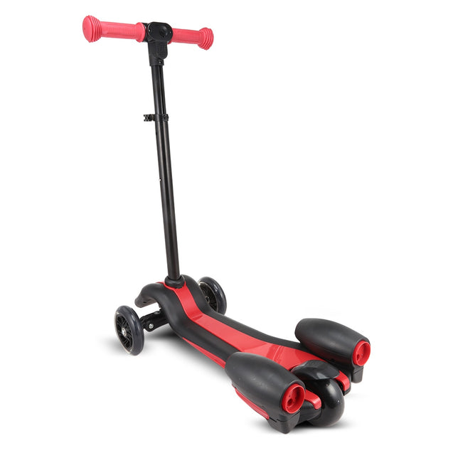 Coupcou.com: Kids Flash Spray Scooter with Adjustable Handle