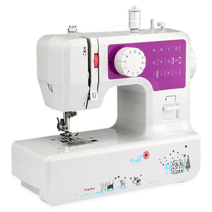 Coupcou.com: JG - 1602 Mini Household Sewing Machine with 12 Stitches