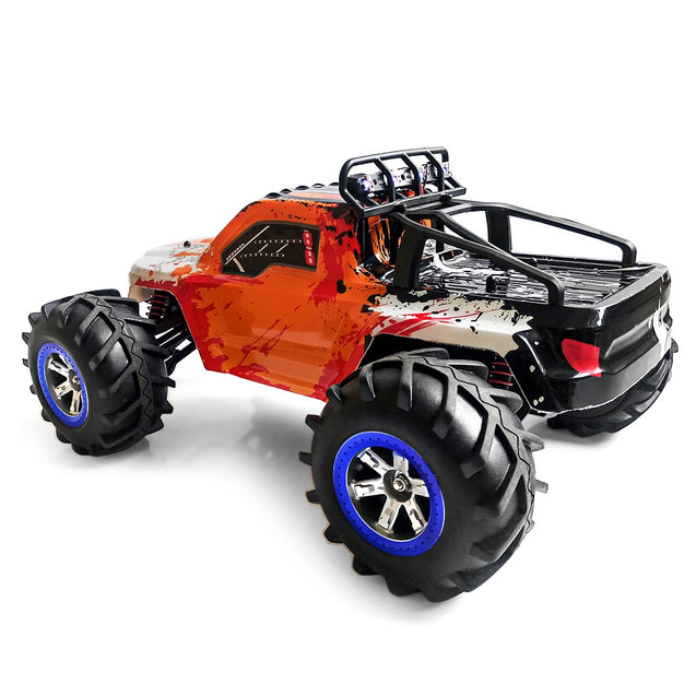Coupcou.com: FEIYUE FY12 1:12 RC Off-road Amphibious Speed Truck 30km/h / 2.4GHz 4-wheel Drive / 390 Strong Magnetic Carbon Brushed Motor