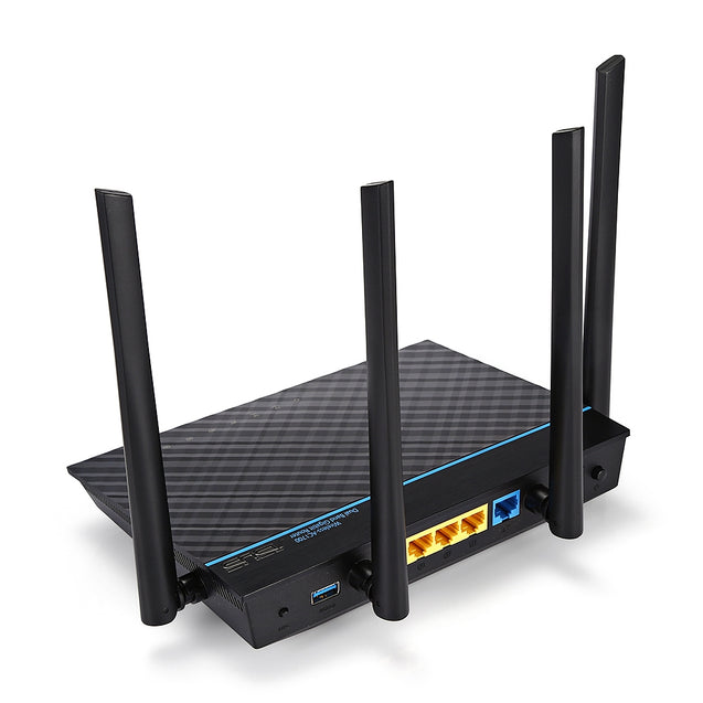 Coupcou.com: ASUS RT - ACRH17 AC1700 Dual-band Gigabit WiFi Router with MU-MIMO