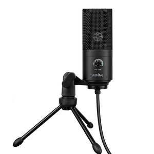 Coupcou.com: FIFINE K669 USB Wired Microphone with Recording Function for PC Laptop