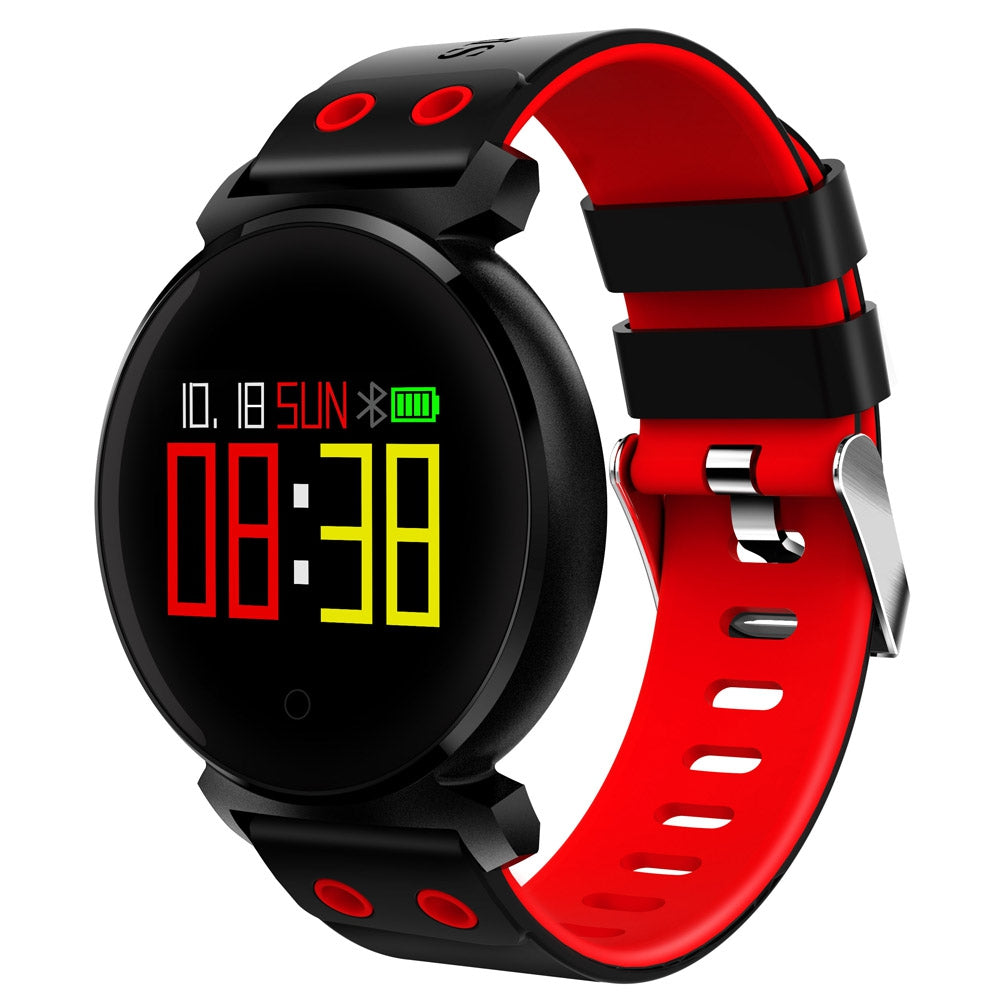 CACGO K2 Bluetooth 4.0 Nordic NRF52832 Chip Sleep / Heart Rate / Blood Pressure / Blood Oxygen /...RED