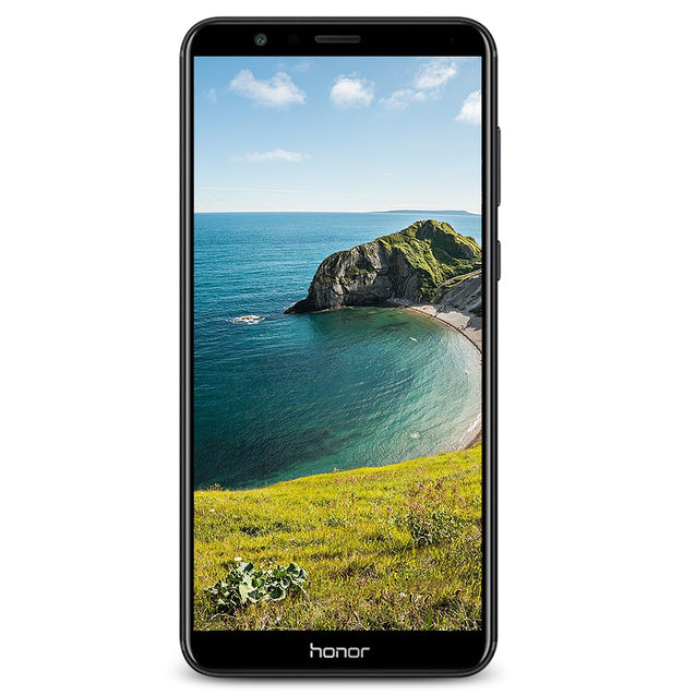 Coupcou.com: HUAWEI Honor 7X 5.93 inch 4G Phablet Full Screen Octa Core 2.4GHz 4GB RAM 64GB ROM Dual Rear Cameras 16MP Android 7.0 OTA