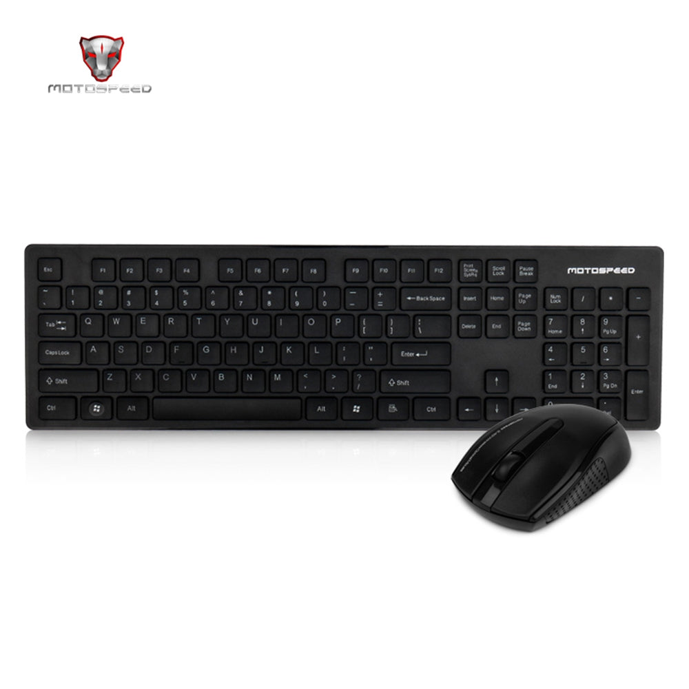 2.4G Wireless Keyboard And Mouse Combo WhitBLACK