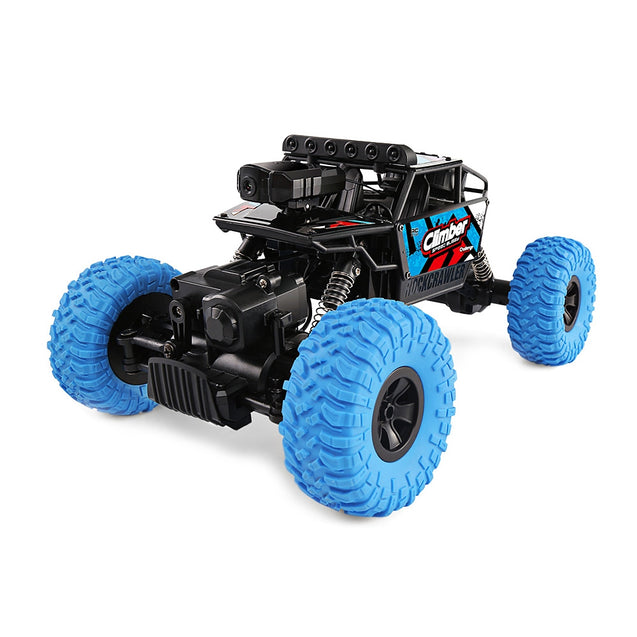 Coupcou.com: JJRC Q45 1/18 2.4GHz 4WD RC Off-road Car WiFi FPV 480P Camera / APP Control / Independent Suspension System