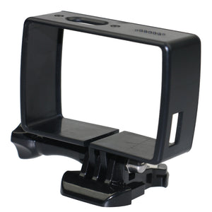 Coupcou.com: Protective Housing Frame Case with Quick Release Buckle Thumbscrew for YI Lite 4K / 4K Plus Action Camera