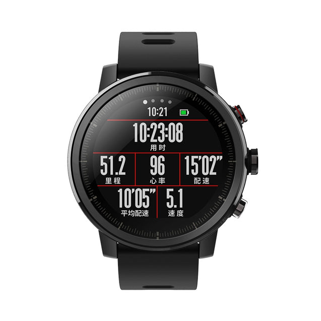 Coupcou.com: Original Amazfit Smartwatch 2 Running Watch GPS Xiaomi Chip Alipay Payment Bluetooth 4.2 Anti-lost for iOS / Android Phones