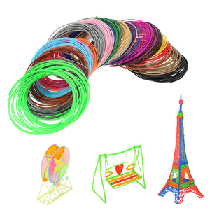 Coupcou.com: 20 Colors Printer Filament for MYRIWELL 3D Printing Pen