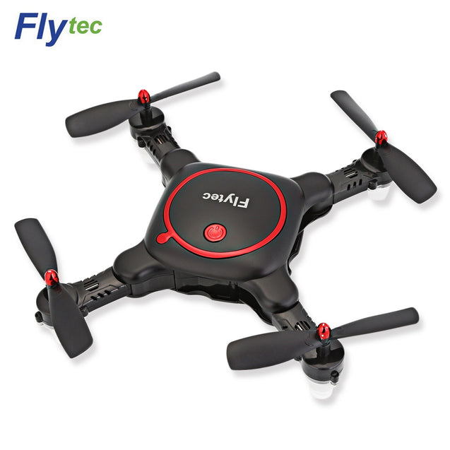 Coupcou.com: Flytec T16 Foldable 0.48MP WiFi Camera RC Quadcopter 2.4G 4CH 6-axis Gyro Altitude Hold Headless Mode Drone RTF