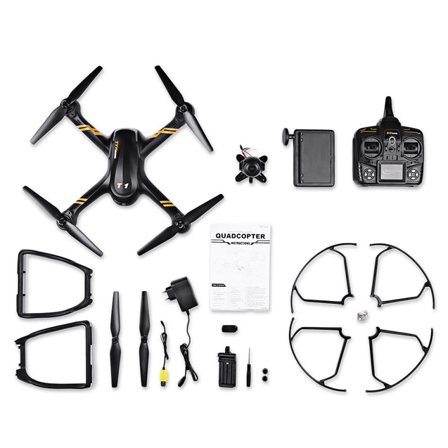 Coupcou.com: Flytec TY - T1 720P WiFi Camera RC Quadcopter 2.4GHz 4CH 6-axis Gyro Altitude Hold Headless Mode Drone RTF