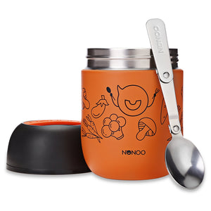 Coupcou.com: NONOO Food Vacuum Thermos with Folding Spoon 460ml
