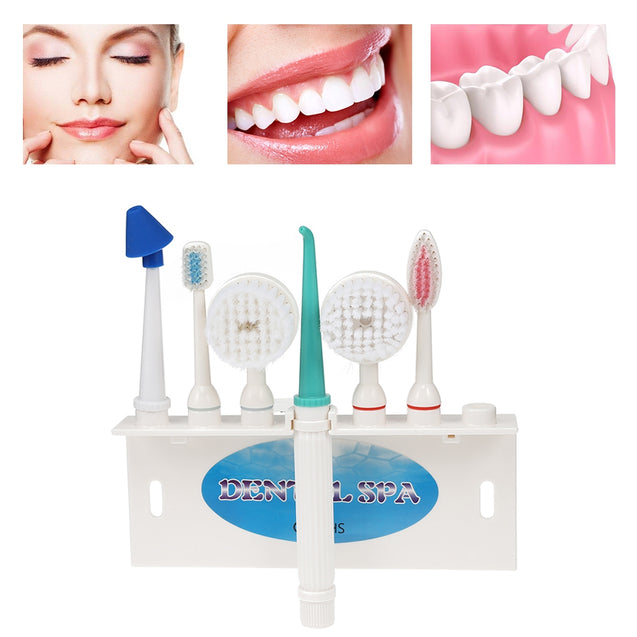 Coupcou.com: Household Multifunctional Dental Water Floss Oral Irrigator Set